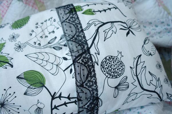 Ikea fabric cushion cover