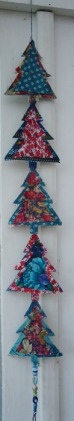 Recycled christmas decoration, christmas tree hanging