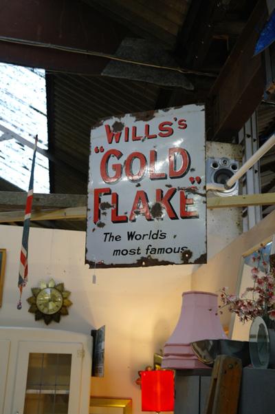 Vintage sign, Bridport, Dorset.