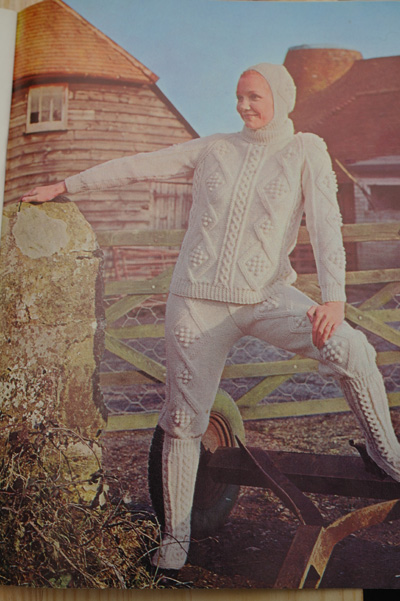 Funny vintage/old knitting pattern.