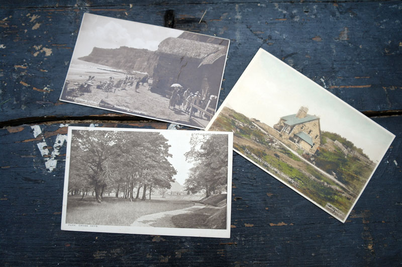 3 vintage postcards. Scenes around Britain.