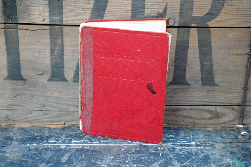 Upcycled notebook, made from a vintage 1930s book cover. Eco friendly notebook. Recycled book cover.