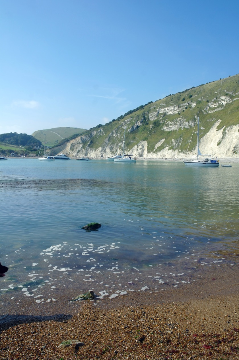 Lulworth Cove, Dorset, England. Jurassic coast.